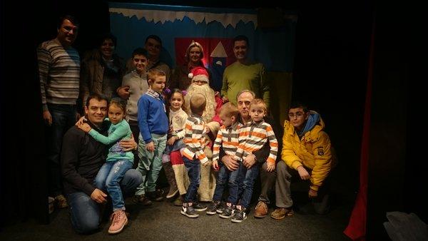 I ove godine za decu svojih radnika ComData je organizovala Novogodišnju predstavu