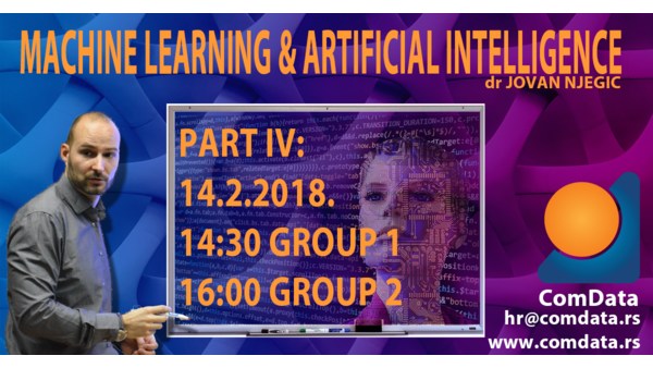 Kurs, Mašinsko učenje i veštačka inteligencija 4