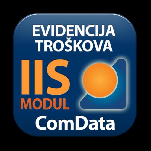 IIS modul EVIDENCIJA TROŠKOVA