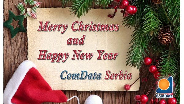 Merry Christmas and Happy New Year! ComData
