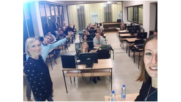 SCRUM trainings for students of Faculty of economics, Subotica
