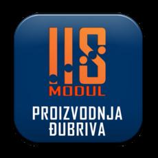 IIS modul PROIZVODNJA ĐUBRIVA