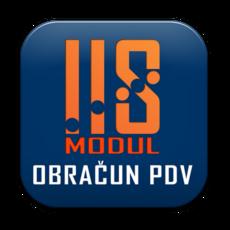 IIS modul OBRAČUN PDV