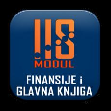 IIS modul FINANSIJE I GLAVNA KNJIGA